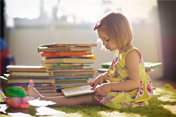 儿童的世界里,需要书籍相伴