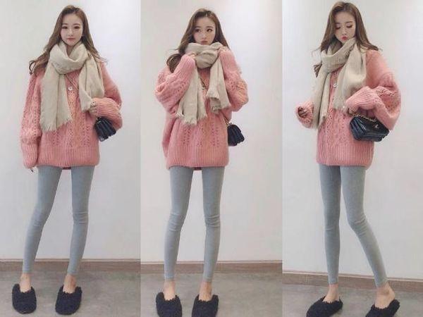 时尚韩系穿搭,时尚韩系穿搭,可盐可甜适合你!